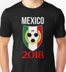Mexico Soccer Championship Jersey - Russia 2018 T Shirt Unisex T-Shirt