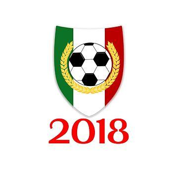 Mexico Soccer Championship Jersey - Russia 2018 T Shirt by ravishdesigns