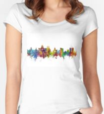 Galway Ireland Skyline Women's Fitted Scoop T-Shirt