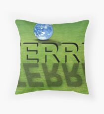 world Throw Pillow