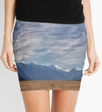 The Road to Milford, New Zealand Mini Skirt