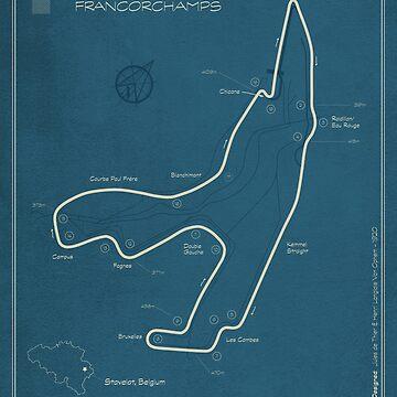 Circuit de Spa Franchorchamps by peterdials