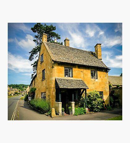 Corner Cottage Photographic Print