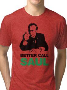 Better Call Saul: Saul Goodman Tri-blend T-Shirt