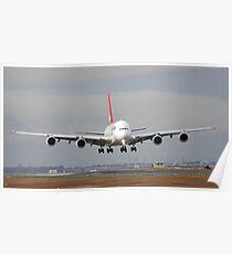 The Qantas A380 Poster