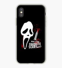 Scream - Lieblingshorrorfilm iPhone-Hülle & Cover