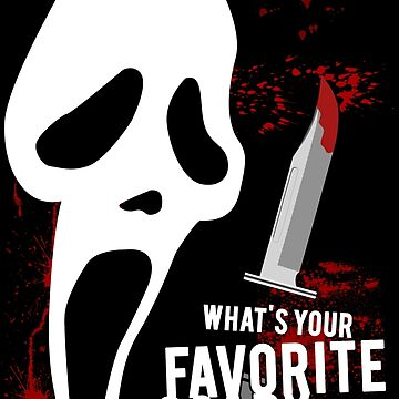 Scream - Favorite horror movie by thecreepstore