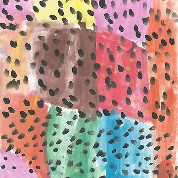 Watercolor illustration pattern AR by degreek