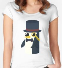 Monsieur Gunter Women's Fitted Scoop T-Shirt