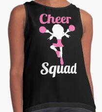 Cheer Squad - Cheerleading Shirt For Cheerleader Girls Contrast Tank