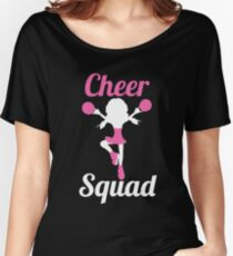 Cheer Squad - Cheerleading Shirt For Cheerleader Girls Women's Relaxed Fit T-Shirt
