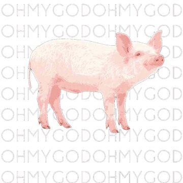 Oh mein Gott Schwein von tjahcokro