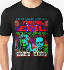 twins of evil marilyn manson 2018 tour pahoman Unisex T-Shirt