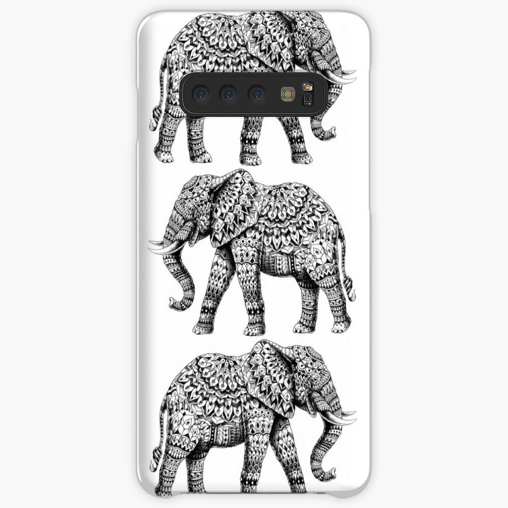 Verzierter Elefant 3.0 Hüllen & Klebefolien für Samsung Galaxy