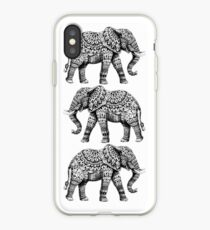 Verzierter Elefant 3.0 iPhone-Hülle & Cover