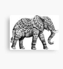 Ornate Elephant 3.0 Metal Print