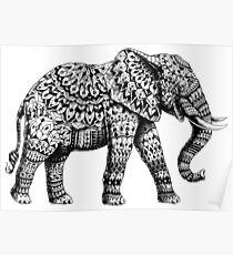 Verzierter Elefant 3.0 Poster