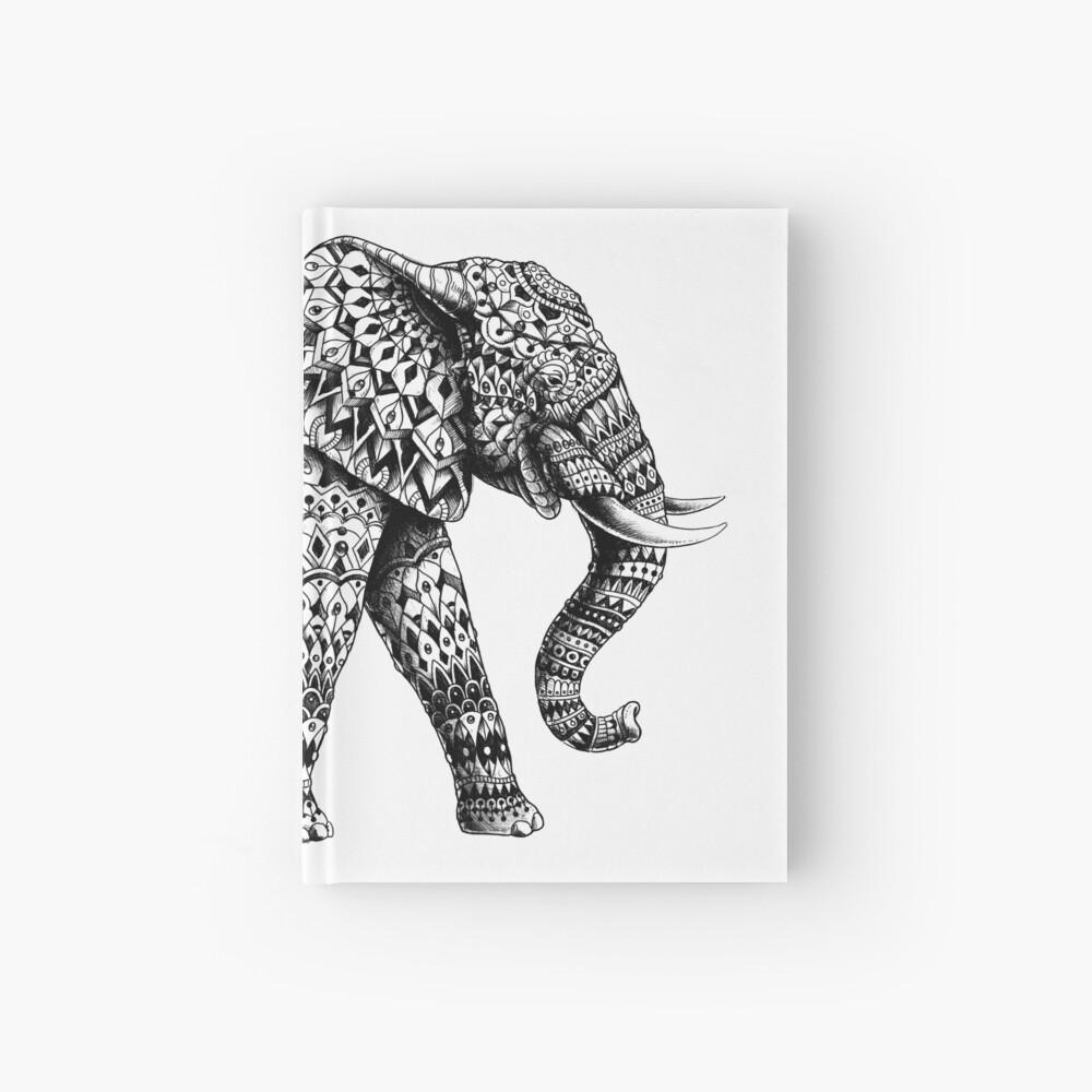 Verzierter Elefant 3.0 Notizbuch