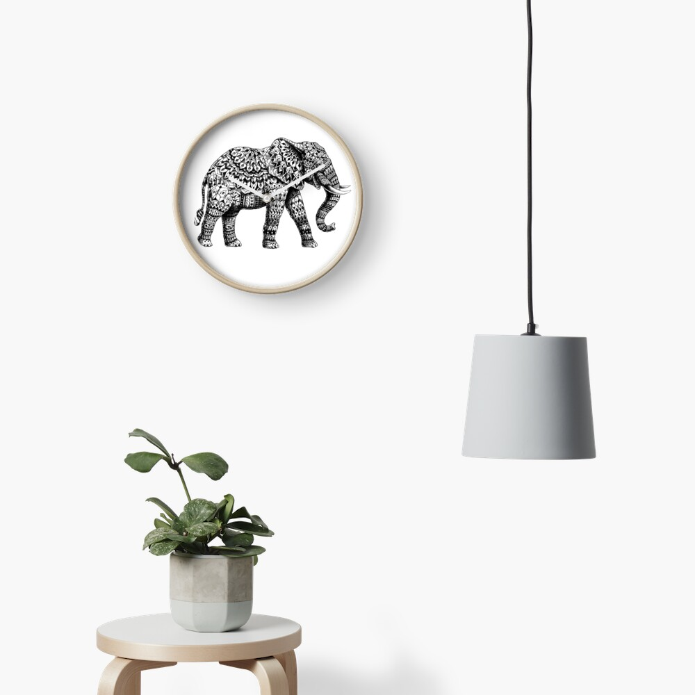 Verzierter Elefant 3.0 Uhr
