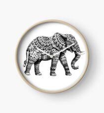 Ornate Elephant 3.0 Clock