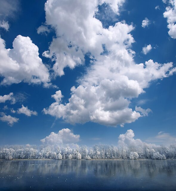 Cotton Sky by Philippe Sainte-Laudy