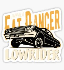 Impala Lowrider - Fat Dancer Sticker