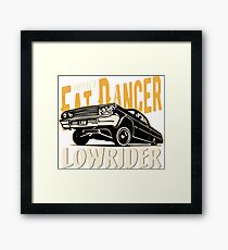 Impala Lowrider - Fat Dancer Gerahmtes Wandbild
