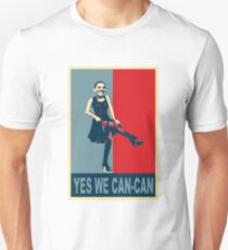 Yes we Can-Can Unisex T-Shirt