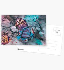 Caribbean Fish Postcards