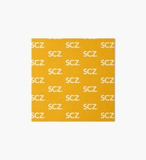SCZ. Official Logo  Art Board
