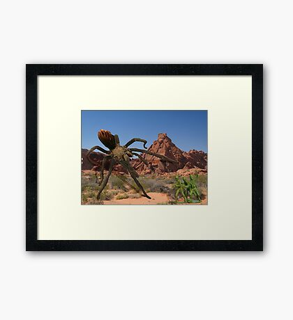 Creature Feature 3 Framed Print