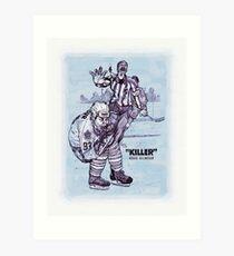 """Killer"" Doug Gilmour Art Print"