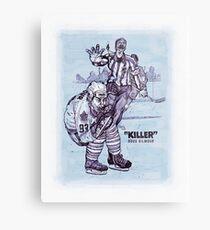 """""""Killer"""" Doug Gilmour Metal Print"""