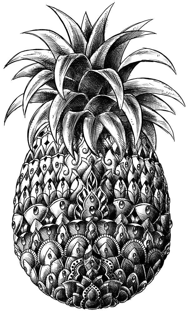 «Piña adornada» de BioWorkZ