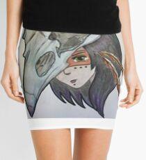 Crow Girl Mini Skirt