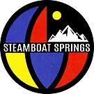 Ski Steamboat Springs Colorado Skiing Vintage Sttyle by MyHandmadeSigns