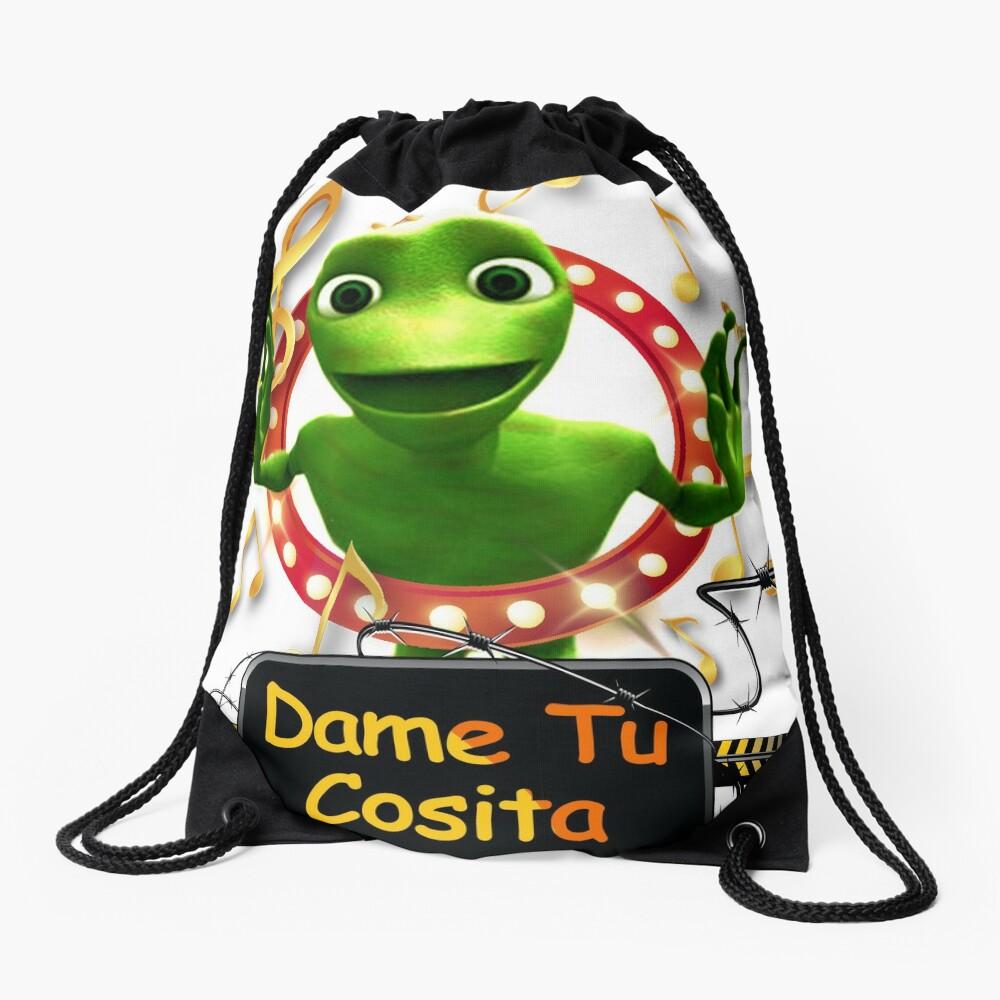 Dame Tu Cosita Challenge Dance Musical T-Shirt  Drawstring Bag