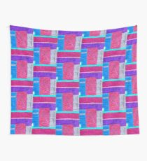 Trippy City Wall Tapestry