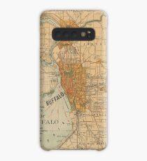 Vintage Map of Buffalo NY (1893) Case/Skin for Samsung Galaxy