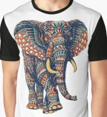 Ornate Elephant v2 (Color Version) Graphic T-Shirt