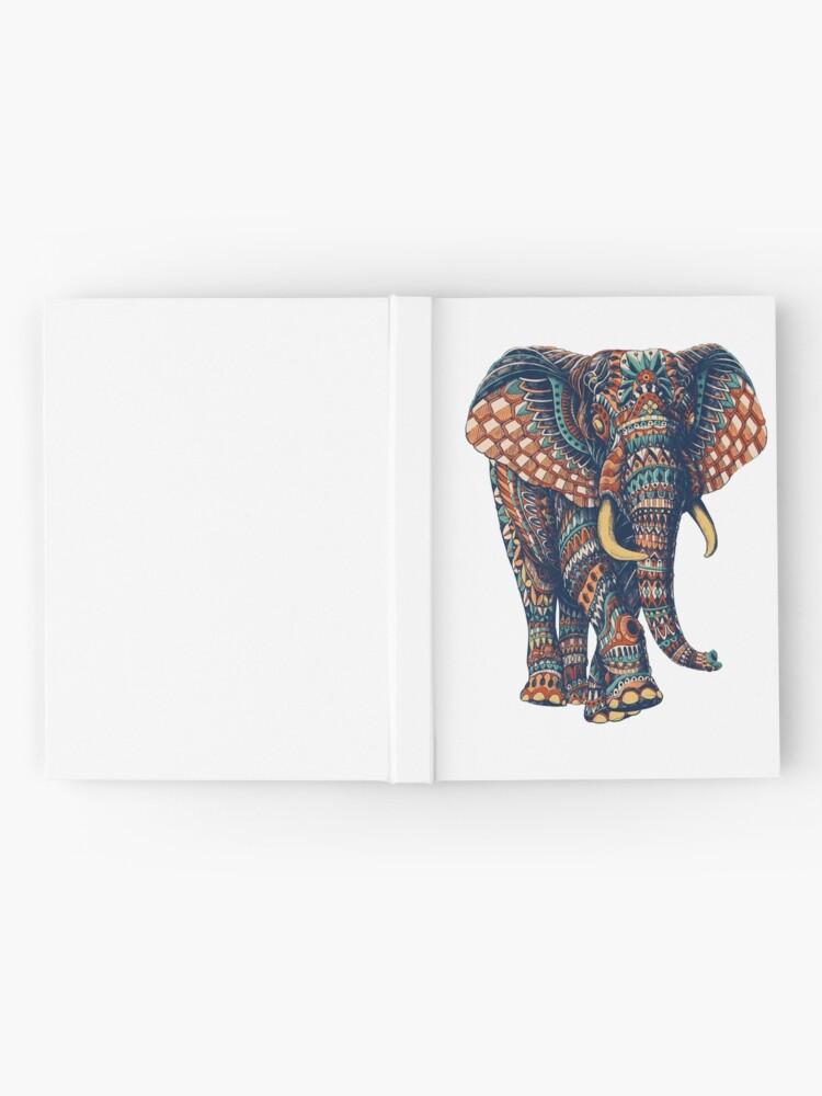 Alternate view of Ornate Elephant v2 (Color Version) Hardcover Journal