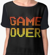 Game Over Chiffon Top
