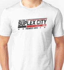 SUPLEX CITY, USA - Black Unisex T-Shirt