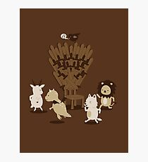 Game Of Musical Thrones Photographic Print