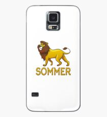 Sommer Lion Drawstring Bags Case/Skin for Samsung Galaxy