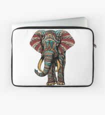Ornate Elephant (Color Version) Laptop Sleeve