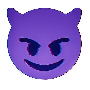 Devil Emoji - C&A by ColorandArt-Lab