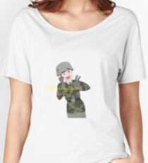 German Paratrooper-1 Women's Relaxed Fit T-Shirt