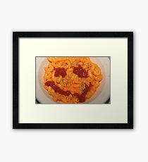 A Happy Meal Framed Print