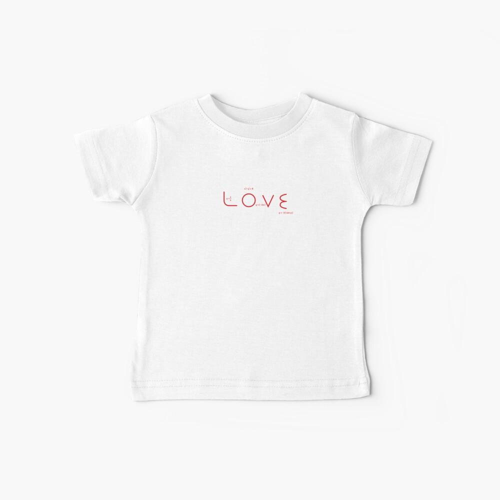 "Math T-shirt Equation Graphs Funny T-shirt ""Math lover"" Baby T-Shirt"